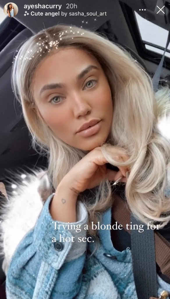 Ayesha Curry Blonde Hair