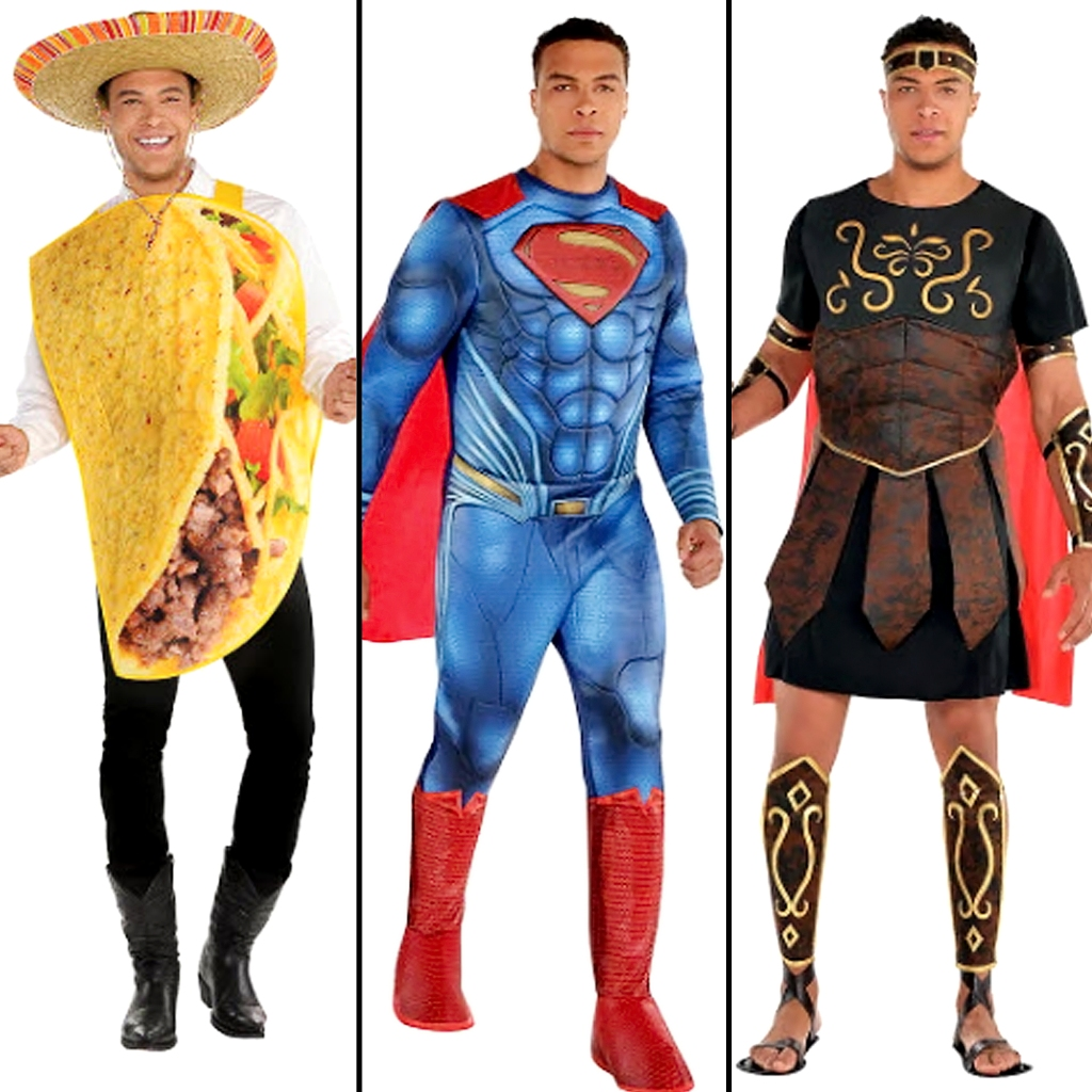 Dale Moss Party City Halloween Costume Shoot Revealed