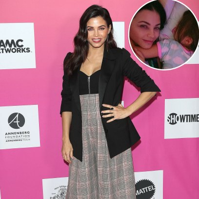 Jenna Dewan Shares Snuggly Selfie With Daughter Everly Tatum