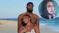 Jordyn Woods' Boyfriend Karl Anthony-Towns Gifts Her Incredible Self-Portrait for 23rd Birthday