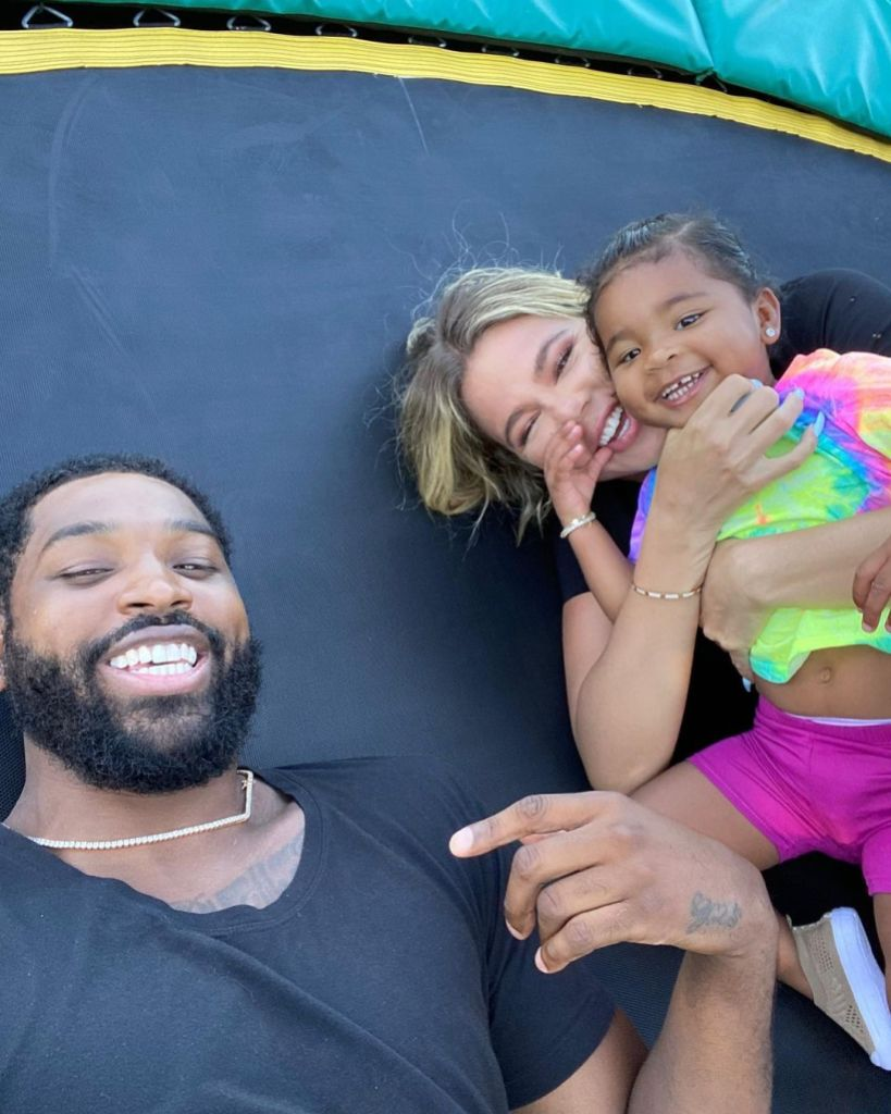 Khloe Kardashian and Tristan Thompson Enjoy Some Halloween Fun With Daughter True