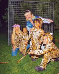 Kim Kardashian's Halloween Costume Will Make You Want to Rewatch 'Tiger King'