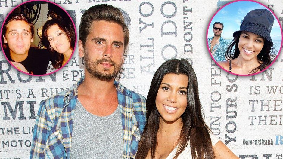 Kourtney Kardashian and Scott Disick Sweetest Photos Over the Years