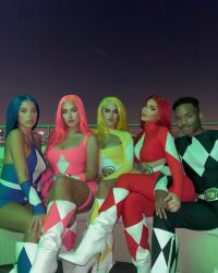 Kylie Jenner Dressed as the Red Ranger From 'Power Rangers' for Halloween — and the '90s Nostalgia Is Real!