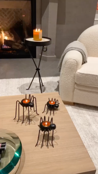 Kylie Jenner's Halloween Decorations