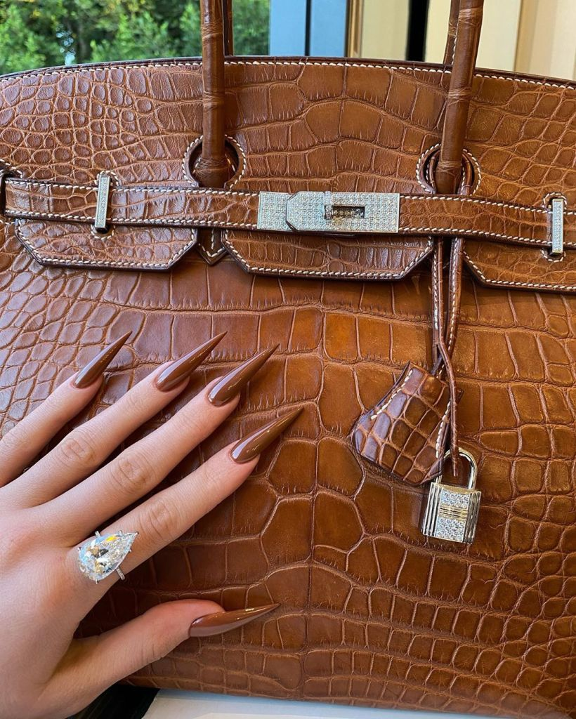 Kylie Jenner Flaunts Diamond Ring and Purse Combo Worth Over $1 Million