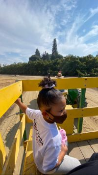 Kylie Jenner and Travis Scott Take Daughter Stormi Webster to a Pumpkin Patch