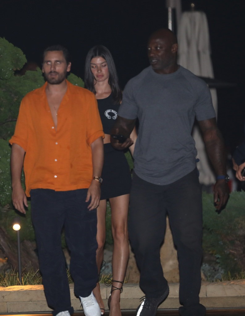 Scott Disick and Model Bella Banos Go on Dinner Date in L.A