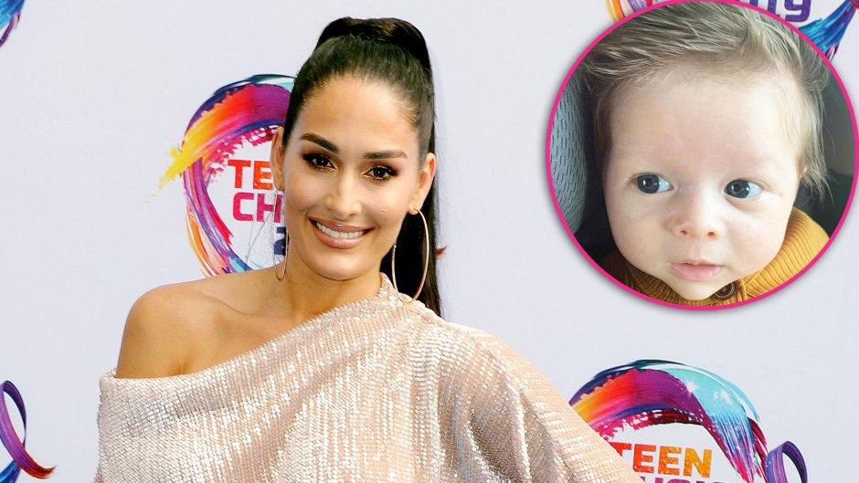Nikki Bella Calls Baby Matteo Her Little PSL in Sweet New Photo