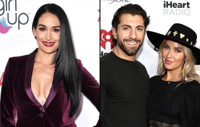 Nikki Bella Calls Bachelor Nation Couple Kaitlyn Bristowe and Jason Tartick '#CoupleGoals'