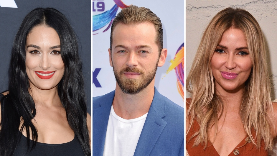 Nikki Bella Gushes Over Artem and Kaitlyn's 'Chemistry' on 'DWTS'