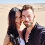 Proud Parents Nikki Bella and Artem Chigvintsev Pack on the PDA While He Cooks Dinner