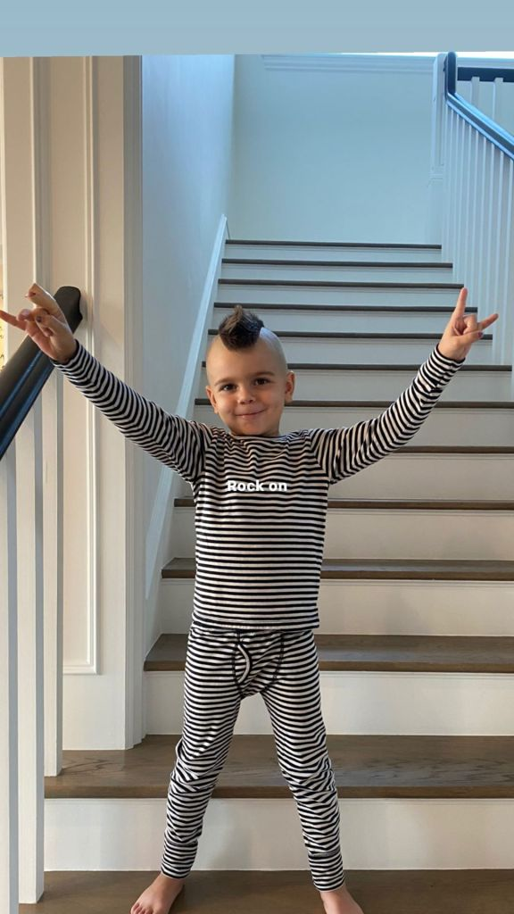 Scott Disick Shows Off Son Reign's Fresh Mohawk: 'Hair Maintenance'