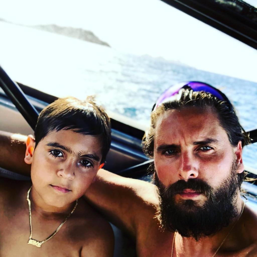 Scott Disick and Son Mason Disick Have a 'Boys' Night' Amid Bella Banos Dating Rumors