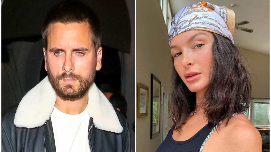 Scott Disick and Model Bella Banos Go on Dinner Date at Nobu in L.A.