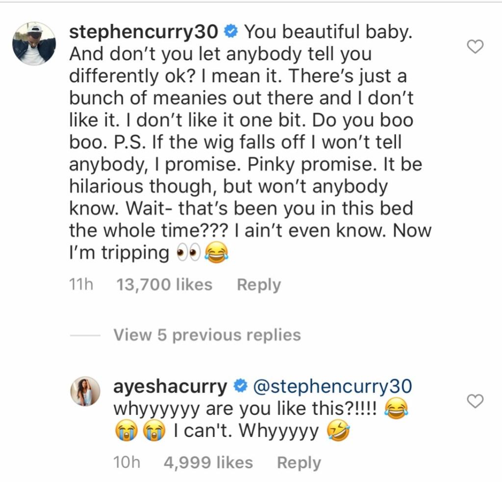 Steph Curry Ayesha Blonde Hair