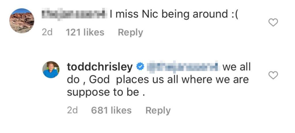 Todd Chrisley Says They Miss Savannah Chrisley Ex Nic Kerdiles After Split