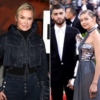Yolanda Hadid Thanks Daughter Gigi and Zayn Malik for Making Her an 'Oma' With Baby No. 1