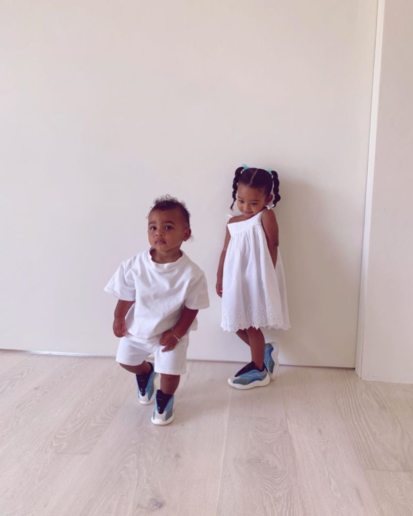 Kim Kardashian Shares Photos of Chicago and Psalm West