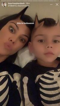 kourtney-kardashian-reign-skeleton-selfie-ig