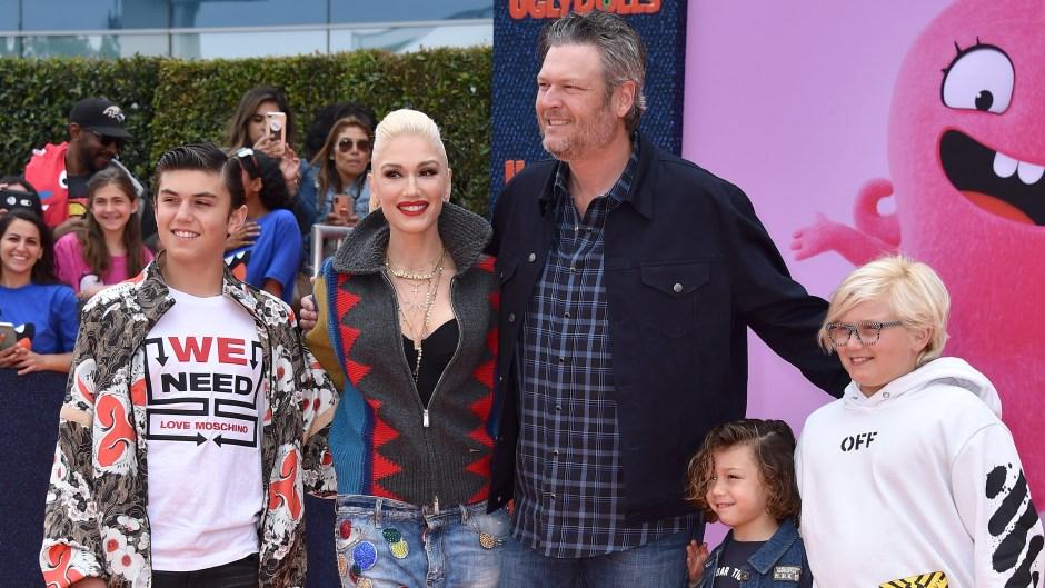 Gwen Stefani's Kids 'Can't Wait' for Wedding With Blake Shelton