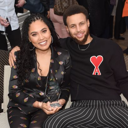 Steph Curry Defends Ayesha's Blonde Hair After Shady Comments