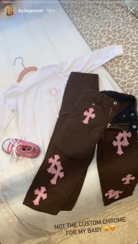 stormi-webster-custom-chrome-hearts-outfit-kylie-jenner-ig