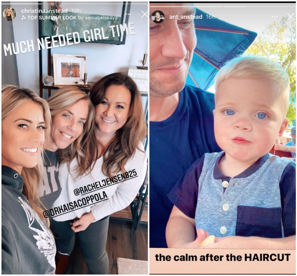 Christina and Ant Anstead Coparenting