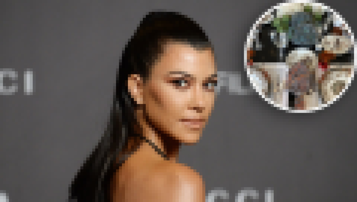 Copying Kourtney Kardashian's Chic Thanksgiving Tablescape Will Cost You Less than $100