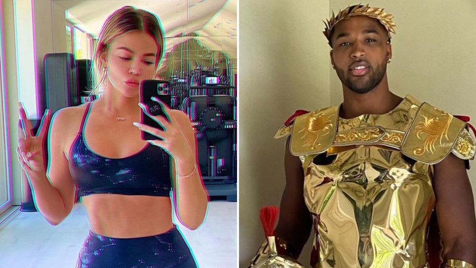 Khloe Responds to Baby No. 2 Rumors After Tristan Halloween Pics
