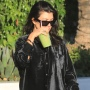 A Cool Mom! Kourtney Kardashian Looks Edgy in an All-Black Outfit With Chunky Boots