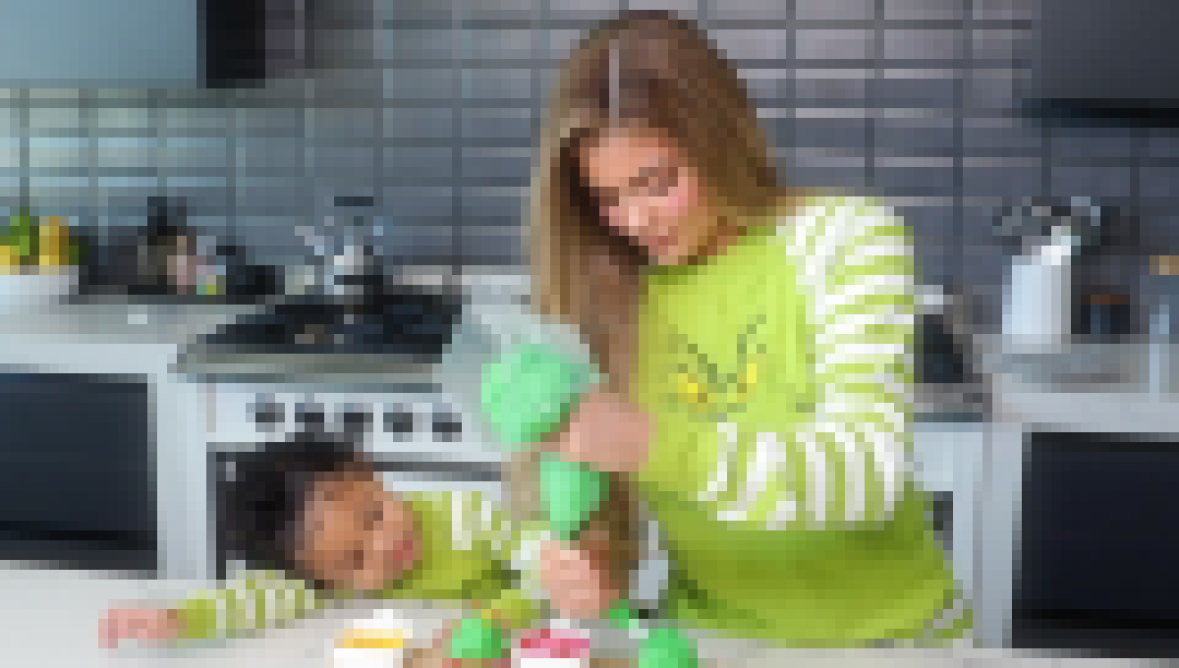 BRB, Crying! Stormi Webster Tells Mom Kylie Jenner She's 'So Beautiful' While Baking Grinch Cupcakes