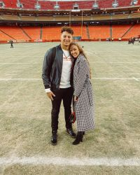 Patrick Mahomes and Fiancee Brittany Matthews Are the Sweetest Couple (and These Cute Photos Prove It!)