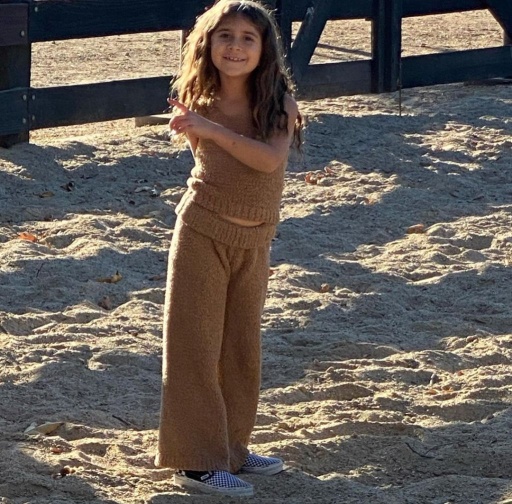 Family Ties! Scott Disick Shares Sweet Photo of Daughter Penelope Supporting Aunt Kim Kardashian