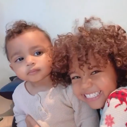 Sibling Love! Saint West Snuggles Brother Psalm in Precious Video: 'Cutest Baby Award'