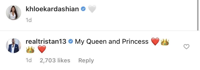 Tristan Thompson Calls Khloe Kardashian His 'Queen' Amid Move to Boston