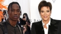 Momager Approved! Travis Scott Gifts Kris Jenner 4 'Gigantic' Rose Bouquets: 'I Love You'