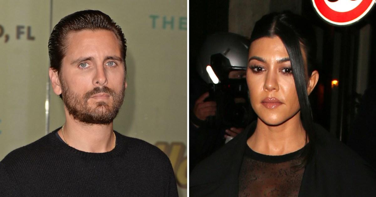 Scott Disick Tells Kourtney Kardashian He Loves Her on 'KUWTK'