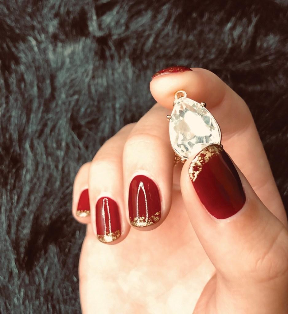 Japonesque Winter Nails