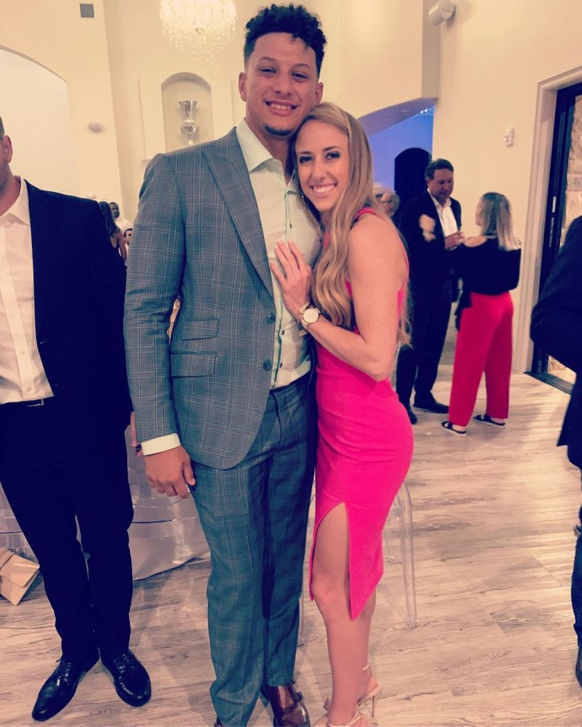 Patrick Mahomes and Brittany Matthews' Relationship Timeline 4