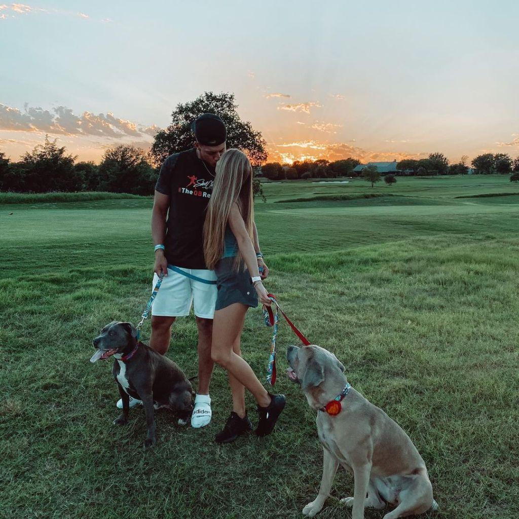 Patrick Mahomes Brittany Matthews Dogs