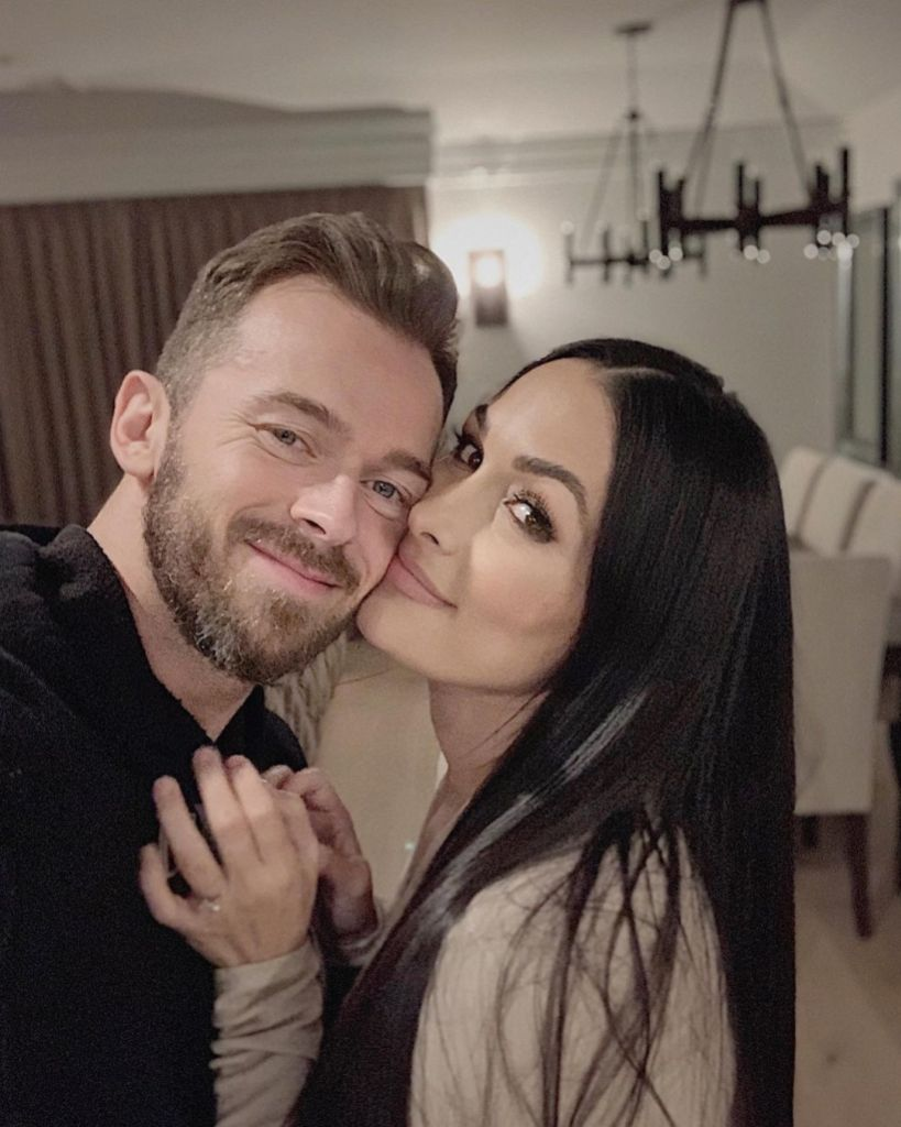 Nikki Bella's Son Matteo Is Artem Chigvintsev's 'Twin,' Fans Say