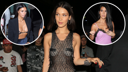 No Shirt, No Problem! Celebs Love Casually Wearing Lingerie in Public and the Photos Prove It
