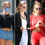 Hailey Baldwin Abs_ Photos of the Model Wearing Crop Tops