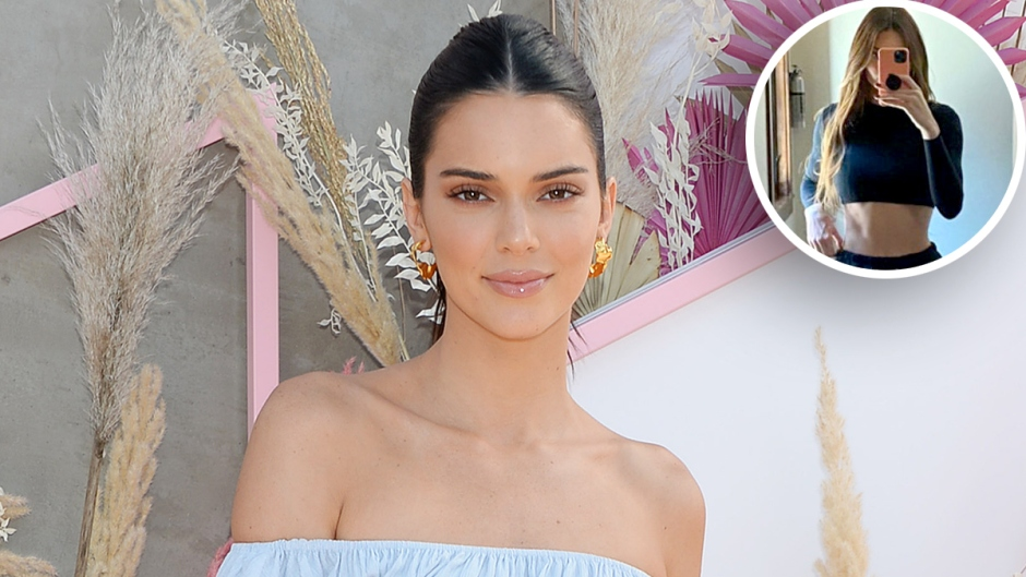 Kendall Jenner Flaunts Her Toned Tummy While Vacationing With Family