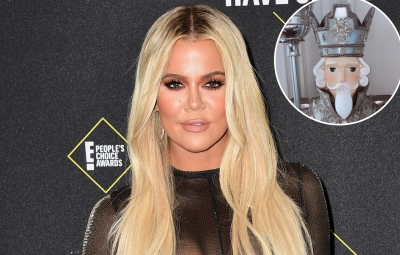 Khloe Kardashian Shows Off Her Silver and Snowy Christmas Decorations — Including Her Lavish Tree