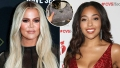 Fashion Twins! Khloe Kardashian and Jordyn Woods Are Obsessed With the Same Rhinestone Prada Bag