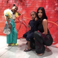 Kim Kardashian's Kids North and Saint West Have Their Very Own Christmas Trees