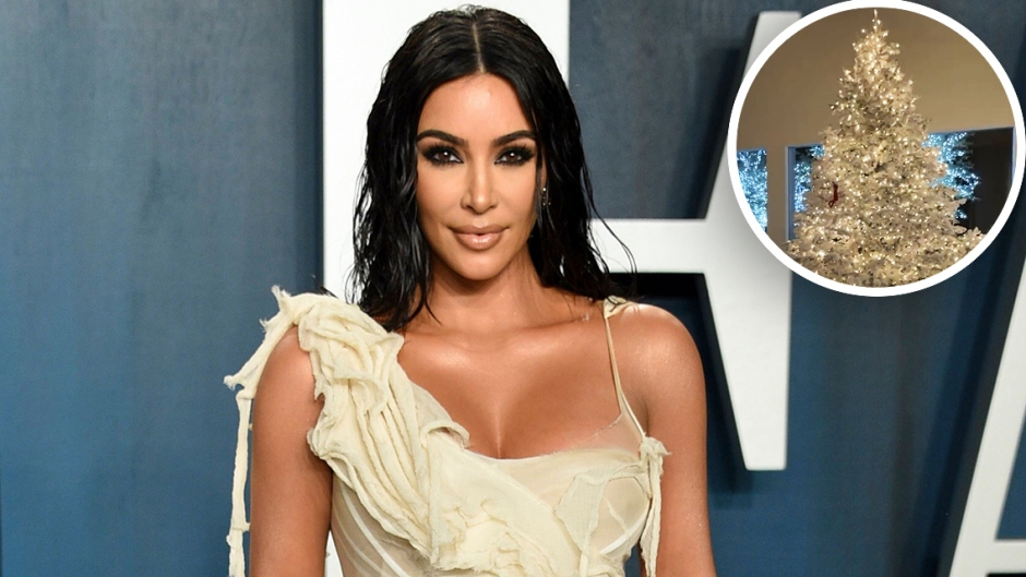 Kim Kardashian Shows Off Her Whoville Winter Wonderland In-Home Christmas Decorations