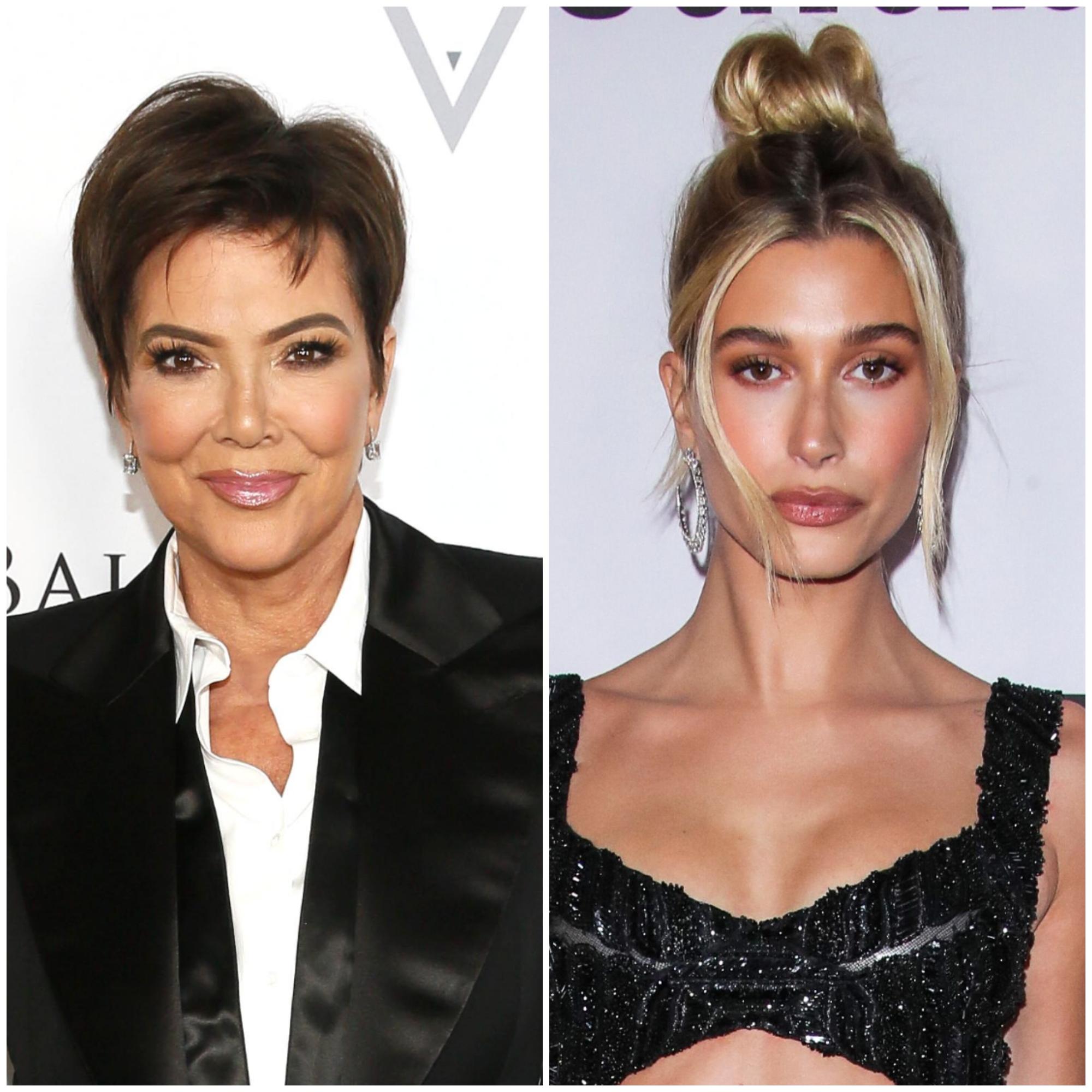 Kris Jenner Supports Hailey Baldwin Amid Backlash From Selena Fans